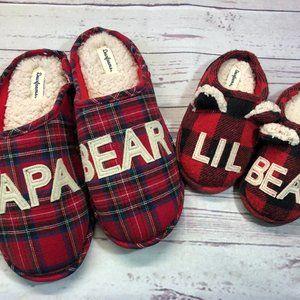 Papa Bear & Lil Bear Dearfoams slipper, GUC